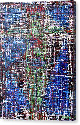 Cross 2 Canvas Print by Patrick J Murphy