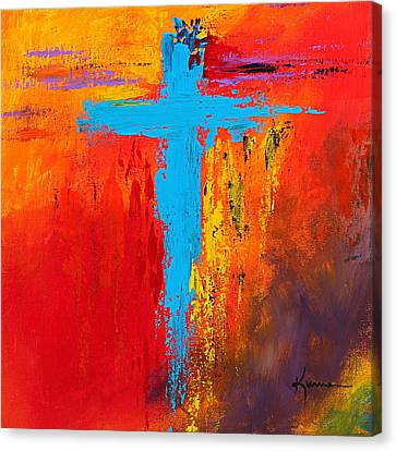 Cross 3 Canvas Print by Kume Bryant