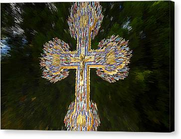 Cross Of The Epiphany Canvas Print