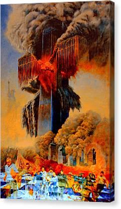 Cross Of The Third Millennium Canvas Print