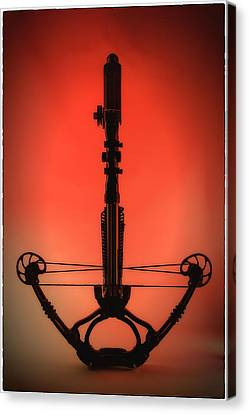 Canvas Print featuring the photograph Crossbow by Tim Nichols