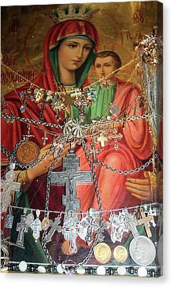 Crosses Canvas Print by Munir Alawi