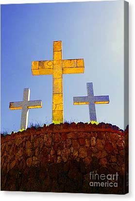 Crosses To Bear Canvas Print
