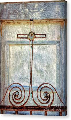 Canvas Print - Crosses Voided - Artistic by Kathleen K Parker