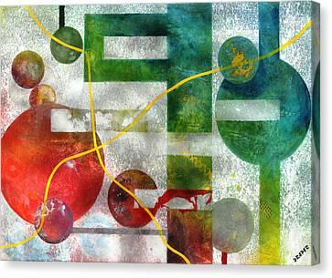 Microcosm Canvas Print - Crossing Jordan by James Douglas Draper