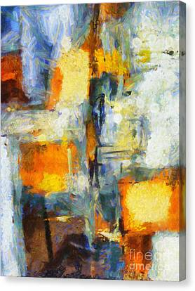 Crossing Canvas Print by Lutz Baar