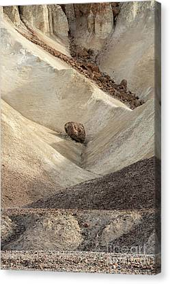 Canvas Print featuring the photograph Crossing Paths - Death Valley by Sandra Bronstein