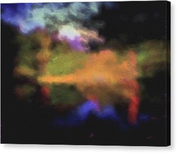 Crossing The Threshold Canvas Print by William Horden