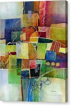Crossroads 2 Canvas Print by Hailey E Herrera