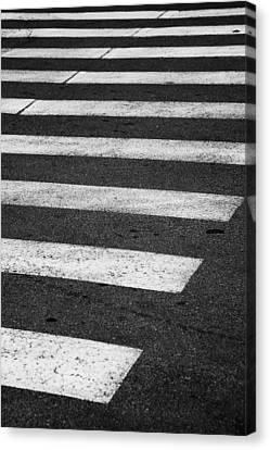 Crosswalk Canvas Print - Crosswalk by Gabriela Insuratelu