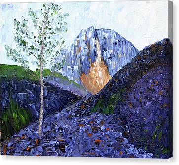 Crow Pass Trail Canvas Print