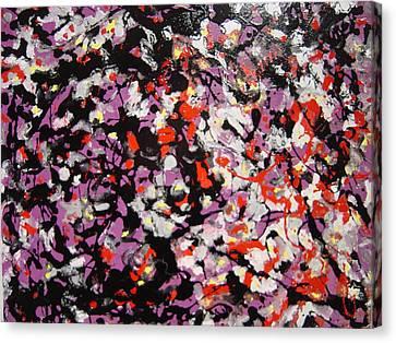 Crowd Canvas Print by Biagio Civale