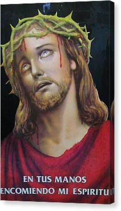 Crown Of Christ Canvas Print by Unique Consignment