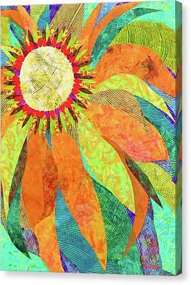 Crown Of Petals Canvas Print