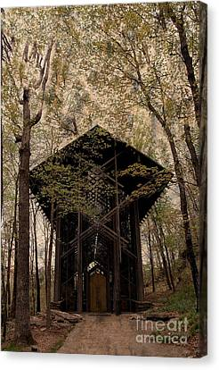 Crown Of Thorns Chapel Canvas Print by Kathleen Struckle