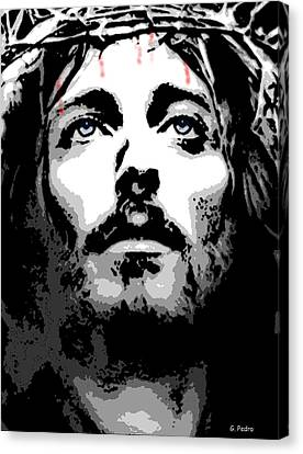 Crown Of Thorns Canvas Print by George Pedro