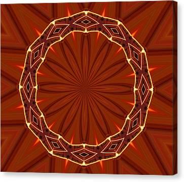 Crown Of Thorns Canvas Print by Kristin Elmquist