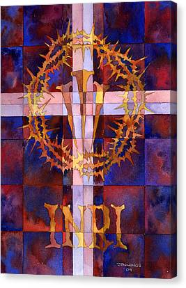 Crown Of Thorns Canvas Print by Mark Jennings