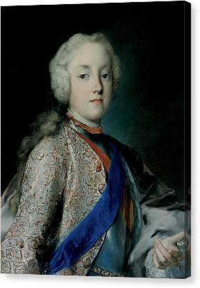 Crown Prince Friedrich Christian Of Saxony Canvas Print