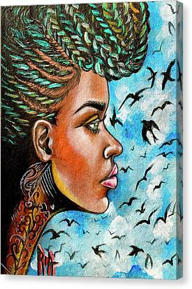 Canvas Print - Crowned Royal by RiA RiA