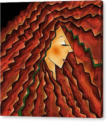 Crowning Glory Canvas Print by Brenda Bryant