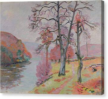 Crozant Brittany Canvas Print by Jean Baptiste Armand Guillaumin