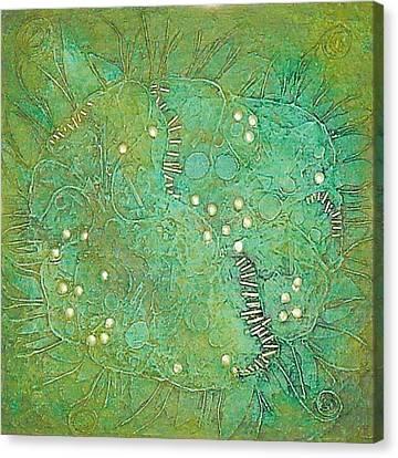 Cruciferous Flower Canvas Print by Bernard Goodman