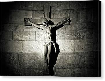 Crucifix Canvas Print by Michael Gaida