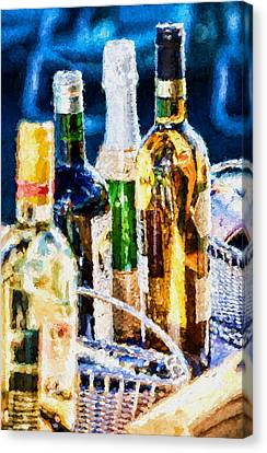 Cruise Booze Canvas Print by Flamingo Graphix John Ellis