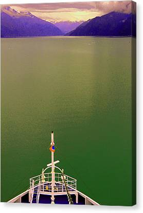 Cruise To The Sun Canvas Print by Mindy Newman