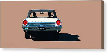 Cruisin' Canvas Print by Susan Vineyard