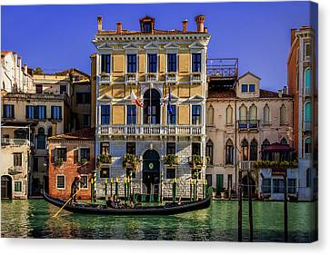 Romance Renaissance Canvas Print - Cruising Down The Canal by Andrew Soundarajan