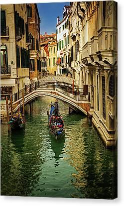 Cruising Venice Canvas Print by Andrew Soundarajan