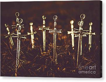Crusaders Cemetery Canvas Print by Jorgo Photography - Wall Art Gallery