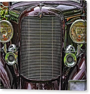 Crusin' With A 32 Desoto Canvas Print by Thom Zehrfeld