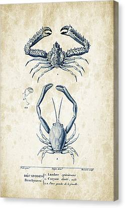 Crustaceans - 1825 - 01 Canvas Print by Aged Pixel