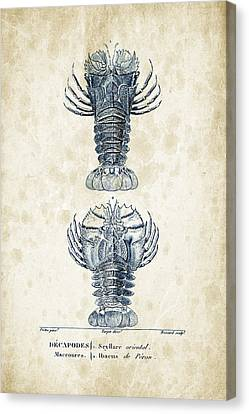Crustaceans - 1825 - 29 Canvas Print by Aged Pixel