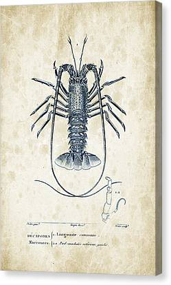 Crustaceans - 1825 - 30 Canvas Print by Aged Pixel