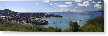 Cruz Bay Canvas Print by Gary Lobdell