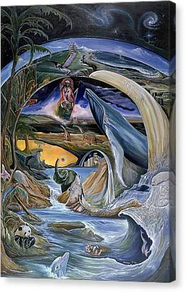 Cry Of Gaia Canvas Print