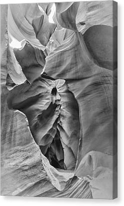 Crying Face - Antelope Canyon Canvas Print by Andreas Freund
