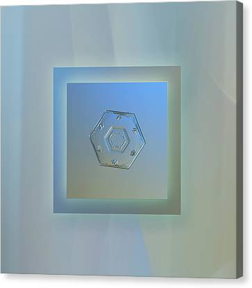 Cryogenia - Pastel Frame Canvas Print by Alexey Kljatov