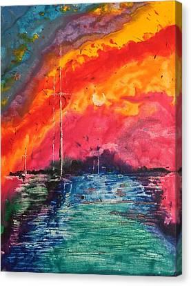 Cryola Collection Canvas Print