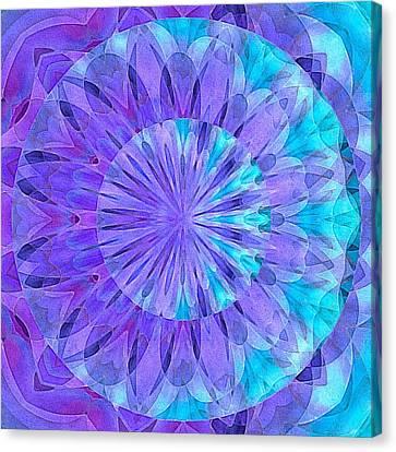 Crystal Aurora Borealis Canvas Print