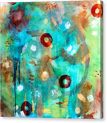 Crystal Blue Persuasion Canvas Print by Shelley Graham Turner