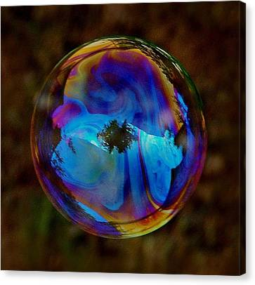 Crystal Bubble Canvas Print by Marilynne Bull