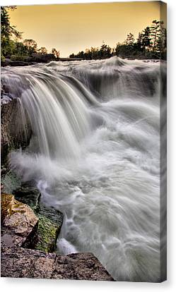 Crystal Cascade Canvas Print by Russell Styles
