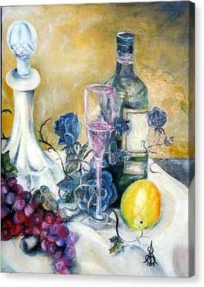 Crystal Clear Canvas Print by Amanda  Sanford