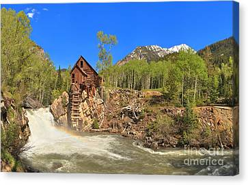 Crystal Colorado Canvas Print - Crystal Colorado Dead Horse Mill by Adam Jewell