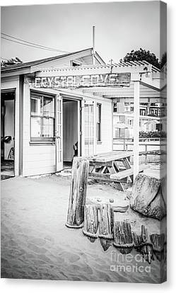 Crystal Cove Cottage #46 Sign Photo Canvas Print